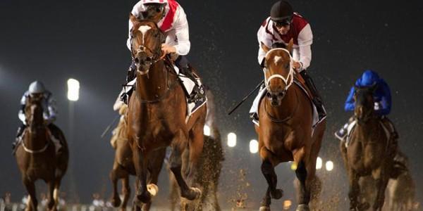 Lóverseny az éjszakában