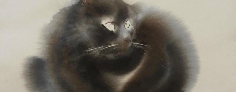 Magyar művész macskás képeiért rajong az internet