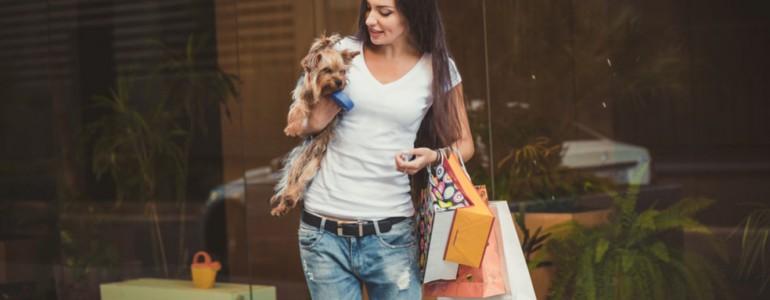 Mostantól kutyák is bemehetnek egy budapesti bevásárlóközpontba