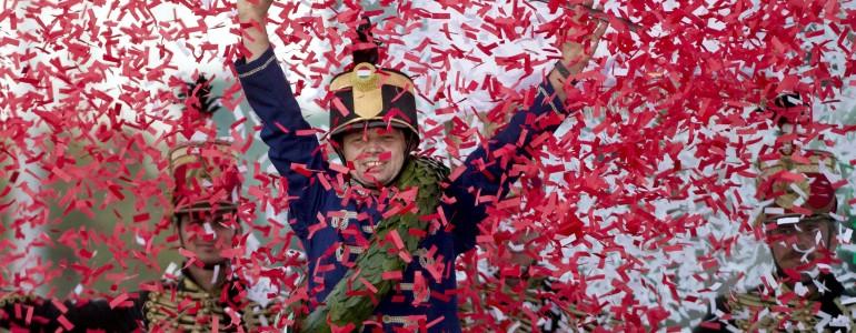 Baja lovasa nyerte a 8. Nemzeti Vágtát