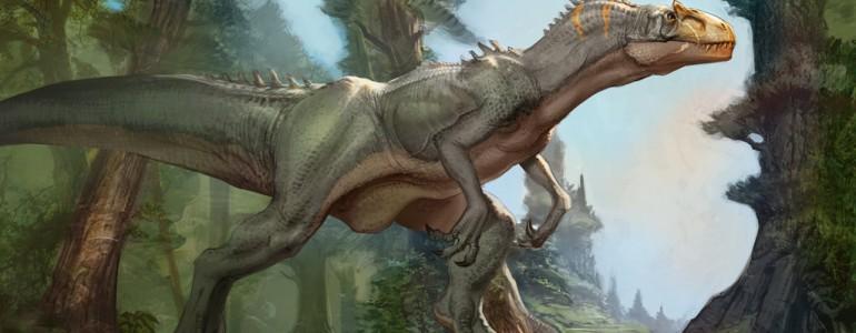 Hatalmasra tudta tátani a száját egy húsevő dinoszaurusz