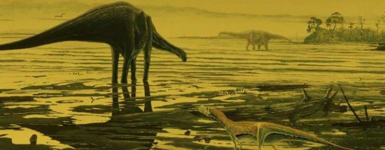 Először bukkantak szauropodák nyomaira Skóciában