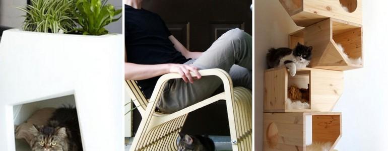 28 macskabarát bútordarab, amit a gazdik is imádnának