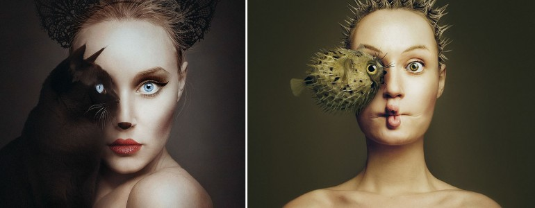 Szinte eggyé válik a magyar fotós az állatokkal ezeken az elképesztő képeken