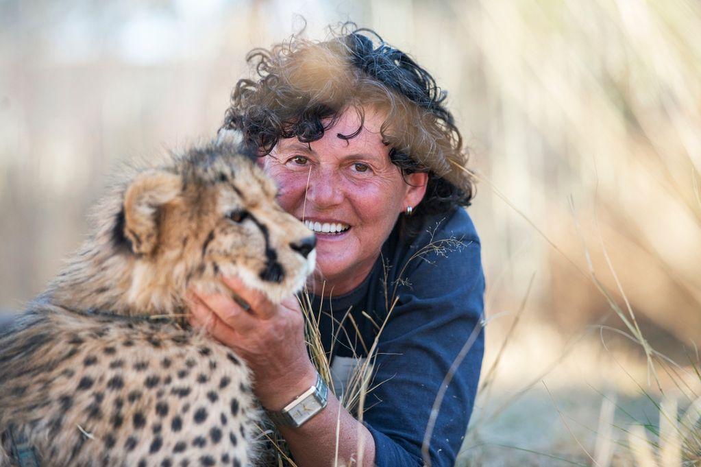 Gepárdja segítette a gyógyulásban a rákos asszonyt
