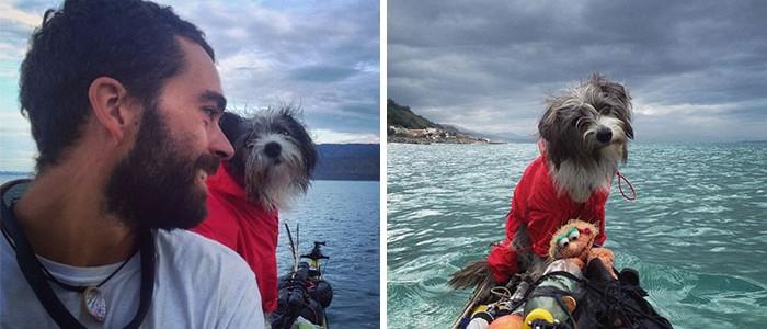 Lenyűgöző kalandokban vesz részt a srác, és kutyusa, akit útközben fogadott örökbe