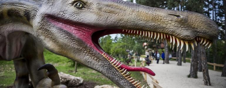 Átadták Magyarország legnagyobb dinoszauruszparkját