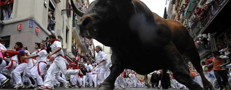 Bankfiókba tévedt egy bika Spanyolországban