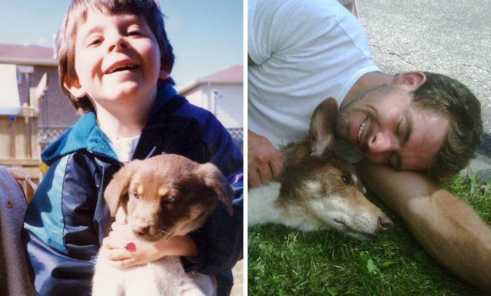 24 szívfacsaró fotó kedvencek első és utolsó napjáról