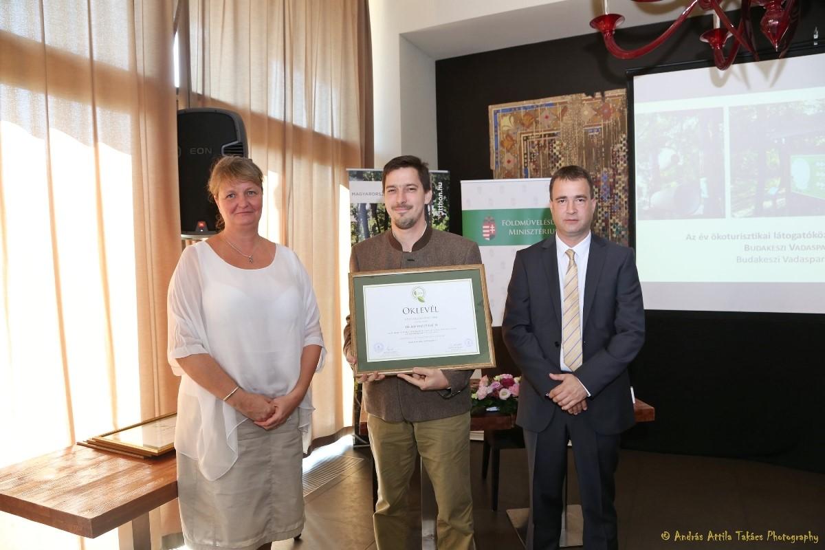 Az év ökoturisztikai létesítményei között a Budakeszi Vadaspark