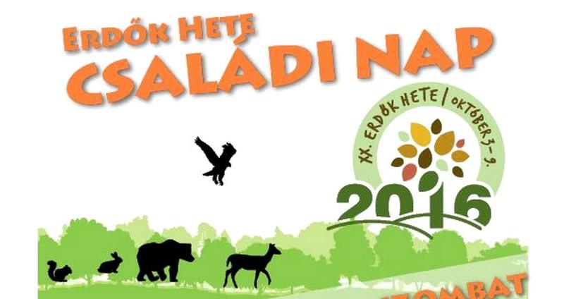 Erdők Hete családi nap a Budakeszi Vadasparkban