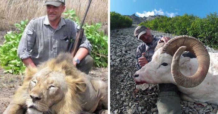 Vadászat közben érte halálos baleset az állatok tetemeivel fotózkodó állatorvost