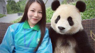 Ismerd meg a pandát, aki a szelfizés nagymestere!