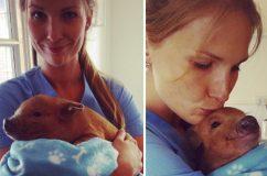 Minden sztereotípiát megdönt a modellből lett állatorvosnő