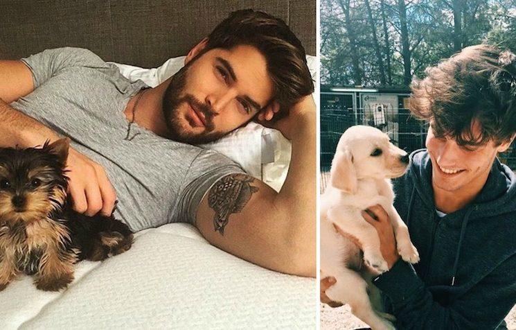 Dögös pasik és imádnivaló kutyák – Megtaláltuk a legtökéletesebb Instagramot